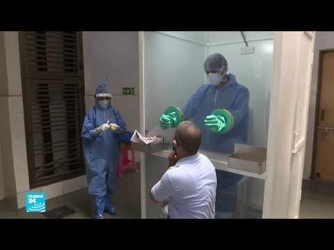 فيروس كورونا: الهند تسجل 24 ألف إصابة جديدة خلال يوم واحد فقط!!  - نشر قبل 22 ساعة