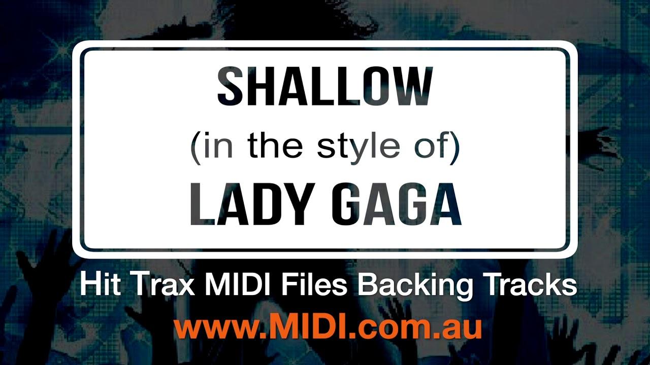 Shallow Lady Gaga & Bradley Cooper MIDI File