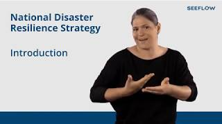 Proposed National Disaster Resilience Strategy summary (NZ Sign Language)
