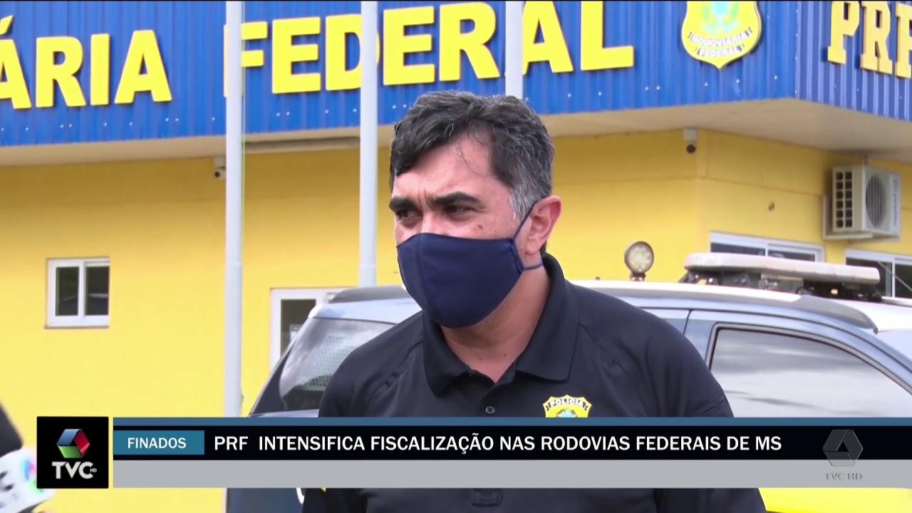 PRF Intensifica fiscalização nas rodovias federais de MS
