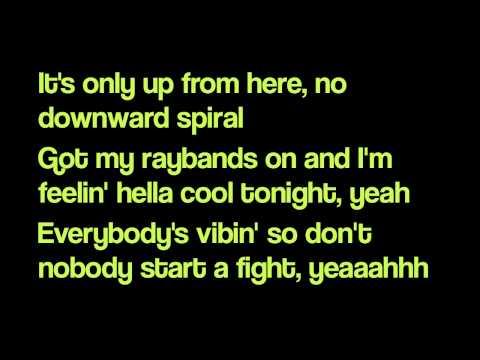 Rihanna - Cheers (I drink to that) [Lyrics on screen]