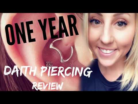 One Year Daith Piercing Update For Migraines- Ashley Witmer