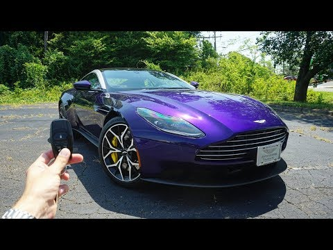 2019 Aston Martin DB11 V8: Start Up, Exhaust, Test Drive and Review