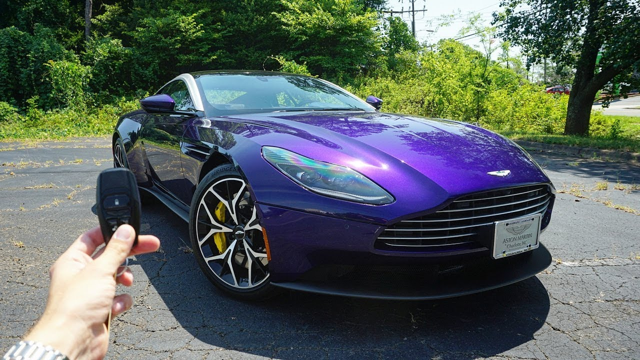 2019 Aston Martin Db11 V8 Start Up Exhaust Test Drive And Review