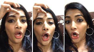 Actress Pooja Hegde Cute Singing with Her Sister   Pooja Hegde Funny Video   FIlmylooks