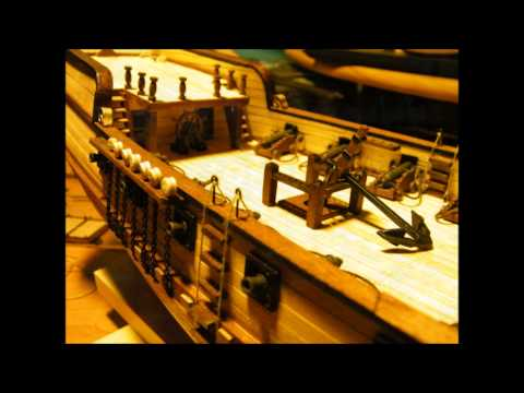 Brig Corsair - wooden model ship