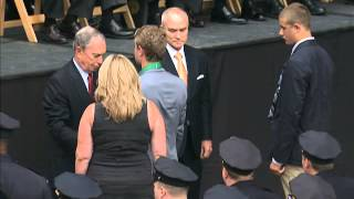 Mayor Bloomberg Speaks at NYPD Medal Day