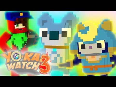 Minecraft Yo-Kai Watch 3 Episode 3 ► SHOGUNYAN'S POLICE FORCE?! (Minecraft Yokai Watch Roleplay)
