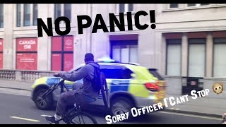 POLICE CHASE WITH NO FRONT WHEEL!!