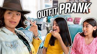 Pranking My Sisters OUTFIT PRANK | GEM Sisters