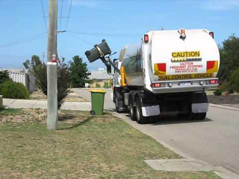 West Australian Garbage Truck Youtube