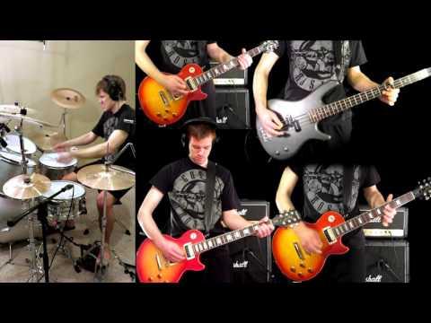 Coma – Guns N' Roses Guitar (Solo) Bass Drum Cover