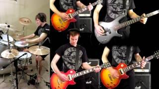 Coma Guns N 39 Roses Guitar Solo Bass Drum Cover.mp3