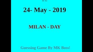Milan-Day Satta Matka 24 MAY Free Game Strong OTC[Hindi]