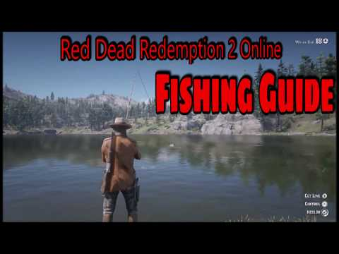 Red Dead Redemption 2 Online: How To Fish and Get Fishing Rod/Fishing Guide