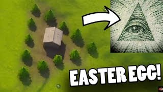 FORTNITE ILLUMINATI EASTER EGG FOUND! Fortnite Battle Royale Illuminati Secret & Easter Egg