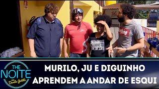 Baixar Murilo, Ju e Diguinho aprendem a andar de esqui | The Noite (13/12/18)