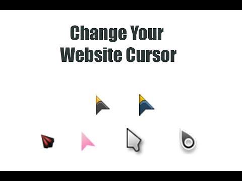 CSS Toutorials - Change Your Mouse Pointer || Web Designing ||CssShots