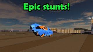 EPIC STUNTS, dérives et plus encore ! Roblox: Simulateur de véhicule