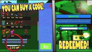 BUILD A BOAT BUY A CODE NOW! ROBLOX