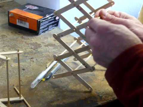 Making a scissor lift