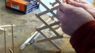 Making a scissor lift