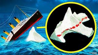 Что случилось с айсбергом после столкновения с «Титаником»