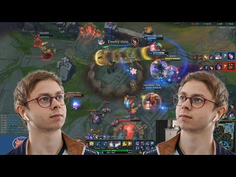 Jensen duoQ with the best ADC in TSM Ft Bjergsen and BrokenBlade