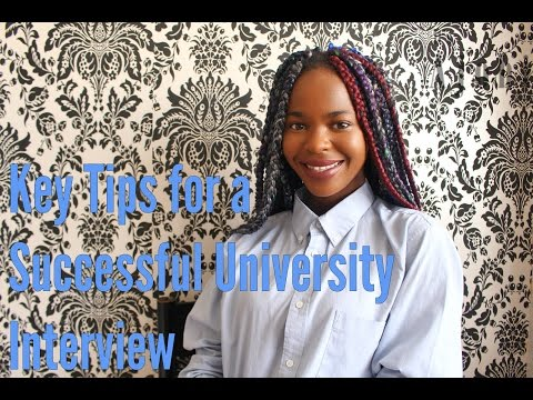 LCF Student Advice - Interview tips