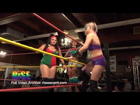Prelim - Drew Renee, Londyn Ali and Savannah Stone vs  Paloma Starr, Samara and Trixie Tash