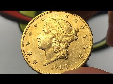 1899 U.S. 20 Dollar Gold Coin • Values, Information, Mintage, History, And More