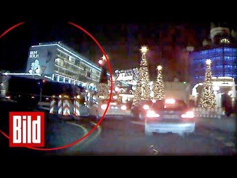Dashcam zeigt Anschlag des Terror-LKWs in Berlin an der Gedchtniskirche