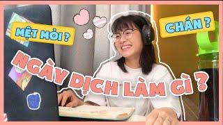Vlog Ngày Dịch Làm Gì Cho Hết Ngày?