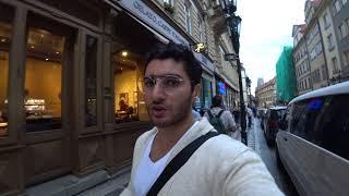 Прогулка по Праге. Плачущий бомж и как обманывают туристов Вьетнамцы в магазинах.