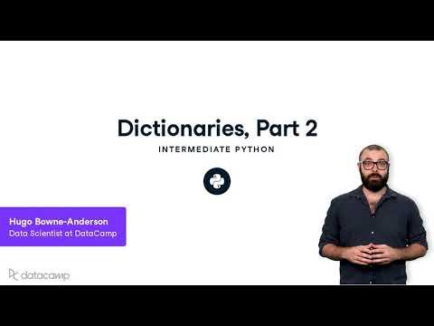 Dictionaries Part 2   Python