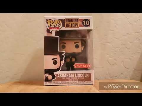Funko Pop Review Exclusive - #10 American History  -  Abraham Lincoln Target Exclusive.
