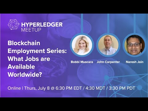 Blockchain Employment Series: What Jobs are Available Worldwide?