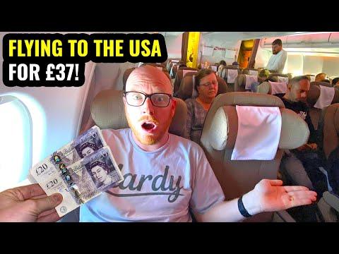 I FLEW TO THE USA FOR £37! Crazy Error Fare!
