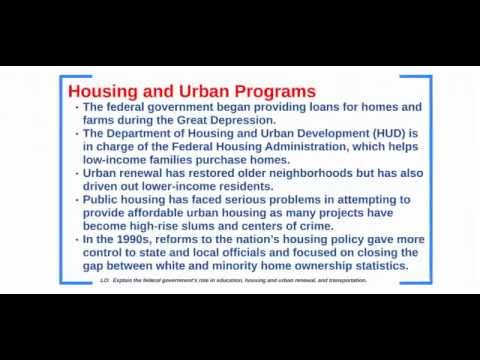 Education Housing and Transportation