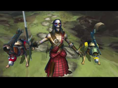 Iron Maiden: Legacy of the Beast - Clansman Eddie Fights for Freedom!