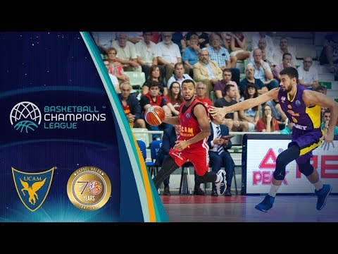 UCAM Murcia v Hapoel Holon - Full Game - Basketball Champions League 2017-18