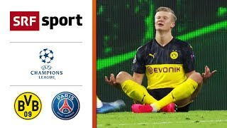 Bvb Held Haaland Trifft Doppelt | Dortmund   Paris 2:1 | Highlights   Champions League 2019/20