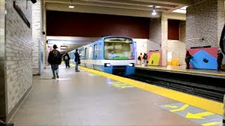 ATWATER METRO STATION / RIDE ON MR-63 TRAIN - JEUMONT MOTORS