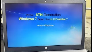 How to 8th Generation Windows7 Setup | Win7 For 8th Gen System | Gigabyte USB Tool |
