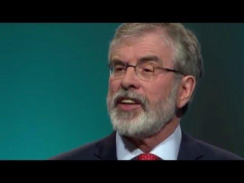 Gerry Adams Presidential Address to Sinn Féin Ard Fheis 2016