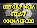 Singapore 1st series of coins