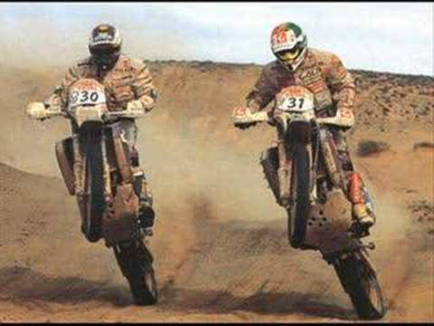 Tribute to Paris Dakar Rally