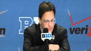 Postgame Press Conference vs. Penn State, Big Ten Tournament