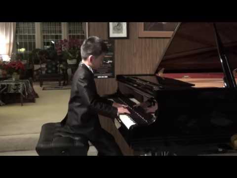 Ryan WANG (8 Years) Plays Minute Waltz By F. Chopin Op.64 No.1