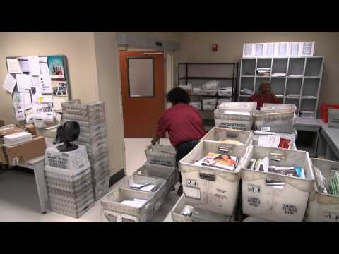 Follow The Letter: The Inner Workings Of A Hospital's Busy Mailroom